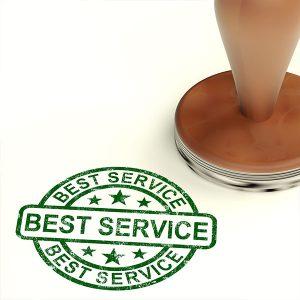 Best Customer Service Stamp