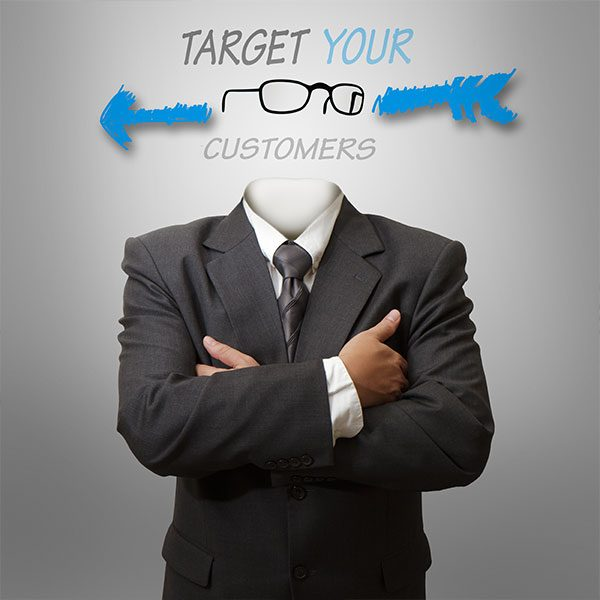 Body with Target Your Customer Tagline