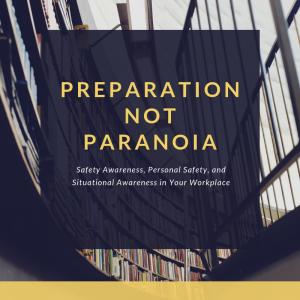 Preparation not Paranoia Program Ad