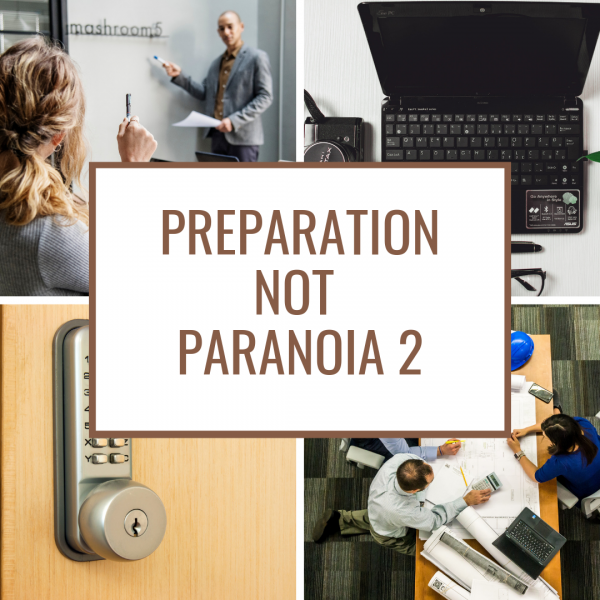 Preparation not Paranoid Ad