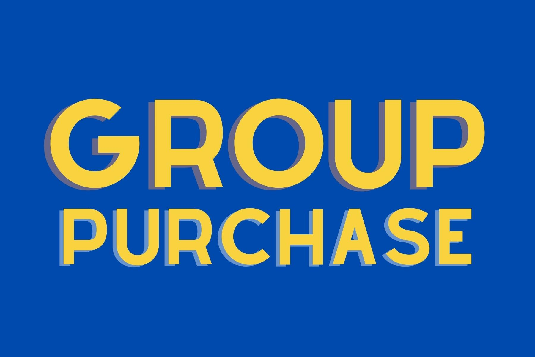 Group Purchase Banner